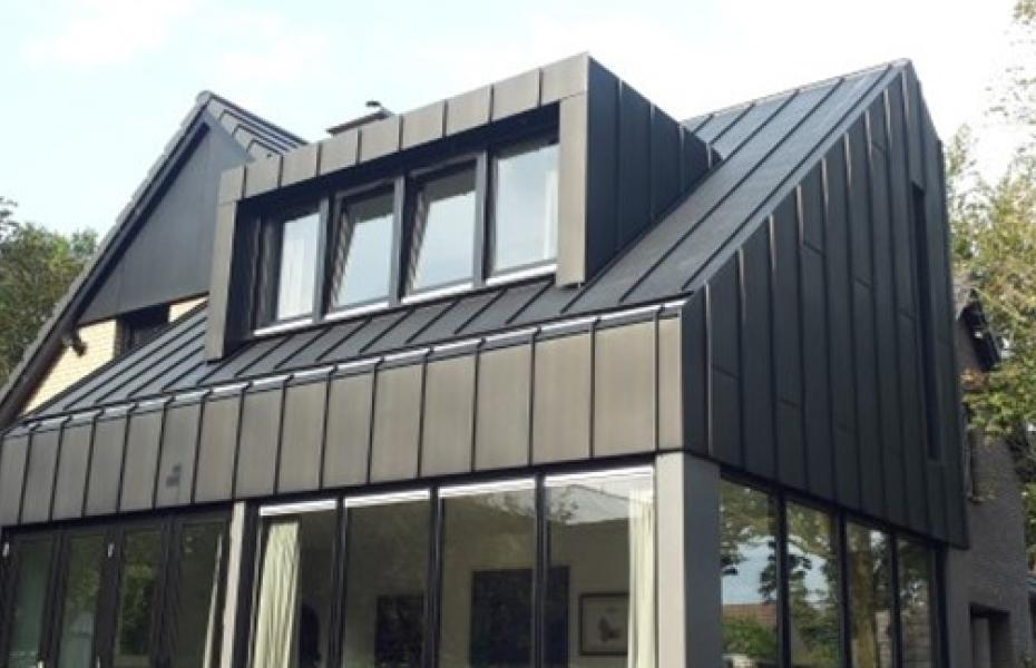 Fremragende Facade sort zink - Inspiration sort zinktag IF58
