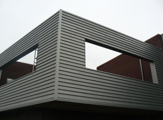 Prælakeret aluminium i 3D overflade