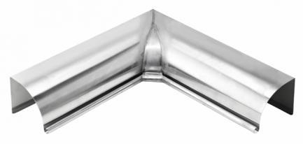 Indvendig gering / hjørne til arkitekt tagrender zink