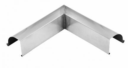 udvendig gering / hjørne til arkitekt tagrender zink