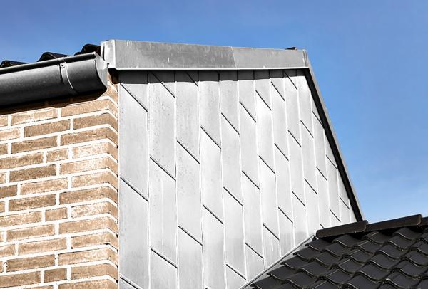 aluminium facade med blindfals