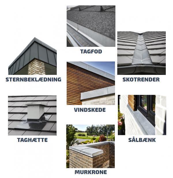 Forskellige bygningsprofiler