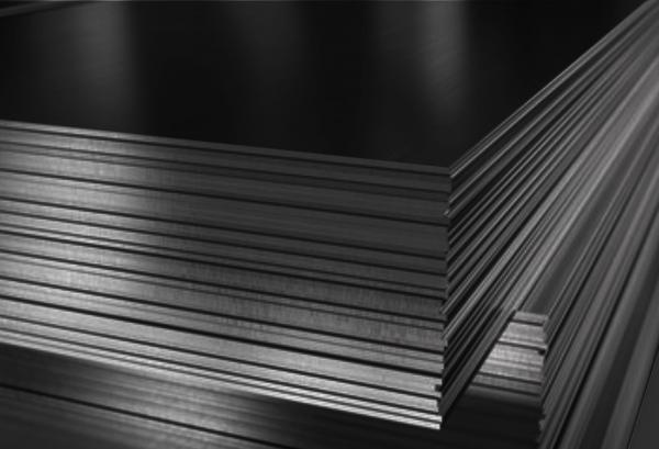 sort aluminium plader